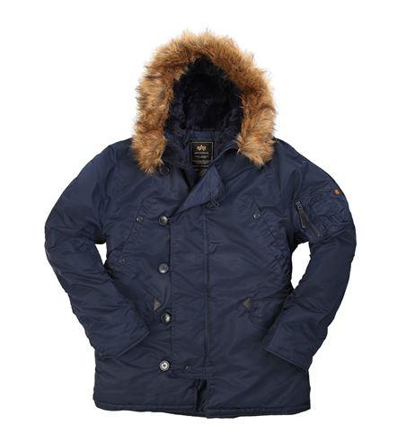 куртки Alpha Regular N3B Replica Blue