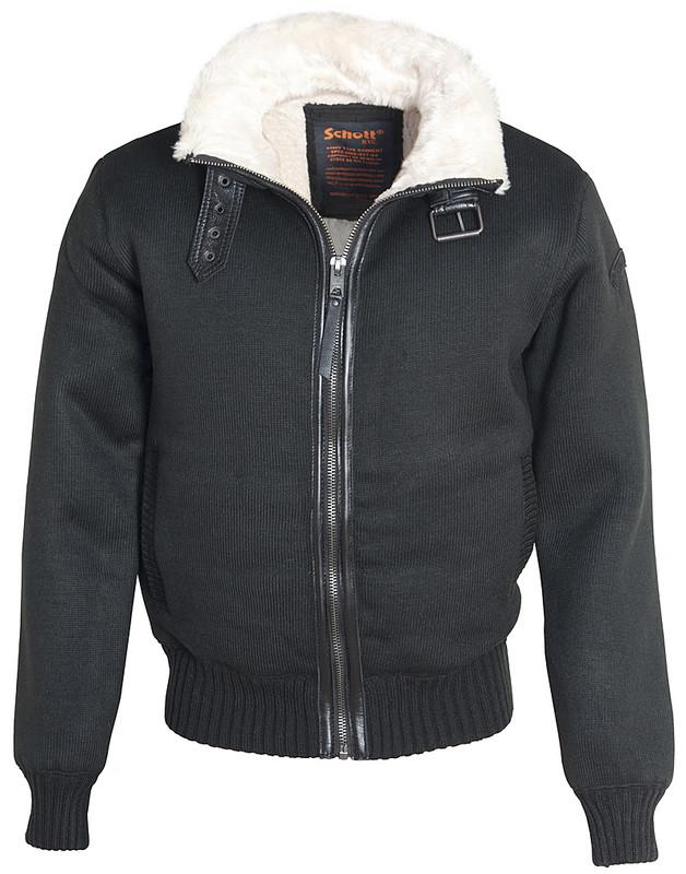 Куртка Schott F1150 black