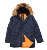 куртка Alpha Slim Fit N3B Replica Blue