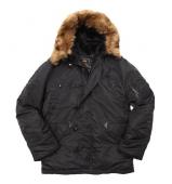 куртки  Alpha Regular N3B Replica Black
