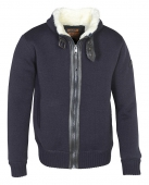 куртка Schott F1150 blue